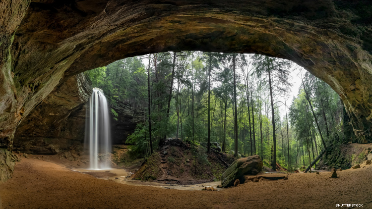 Ash Cave in Hocking Hills State Park