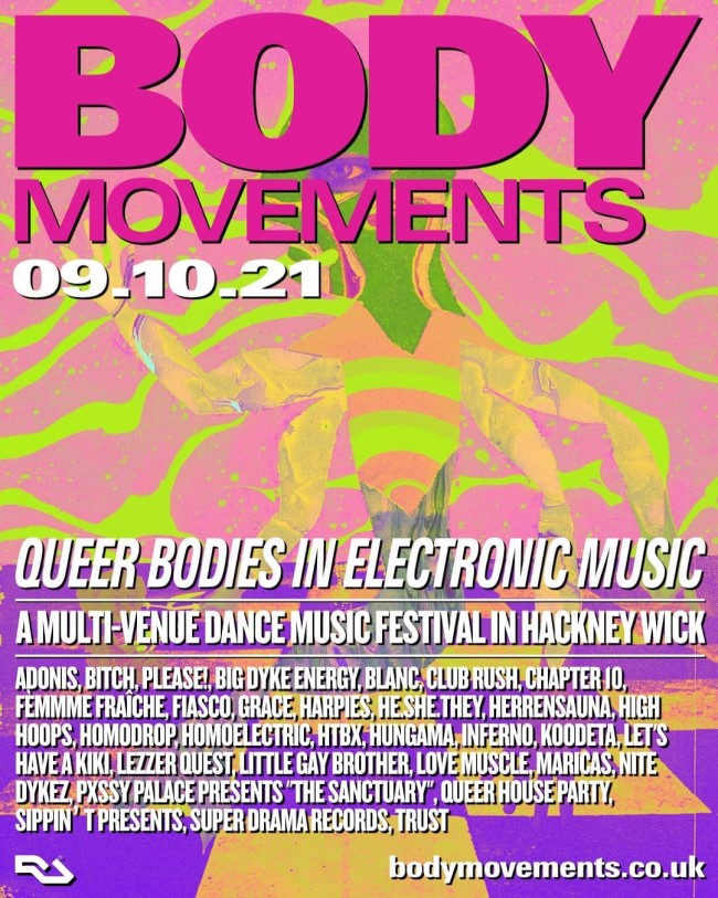 Queer Electronic Dance Music Festival Hits East London This Weekend