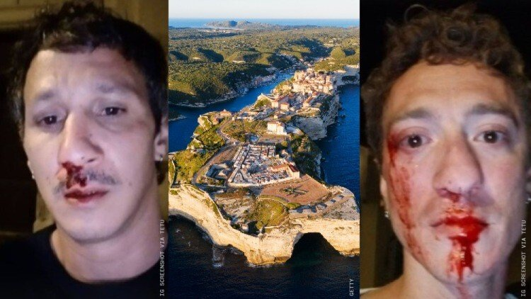 Two gay men attacked in Corsica