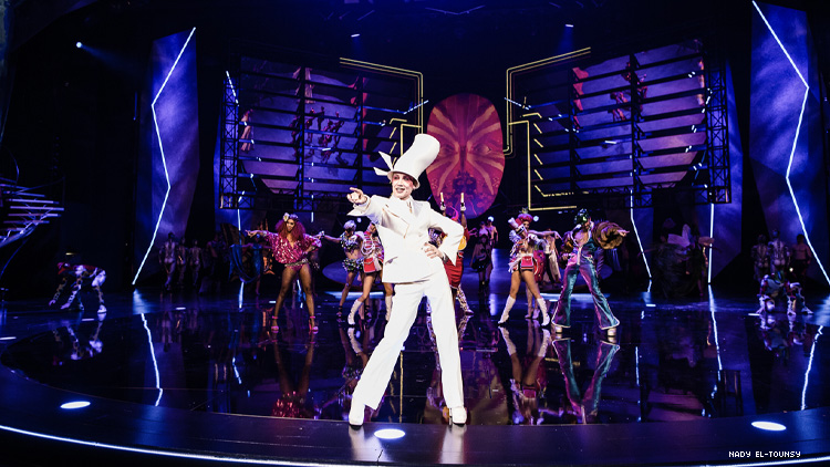 Scene from Vivid the Grand Show