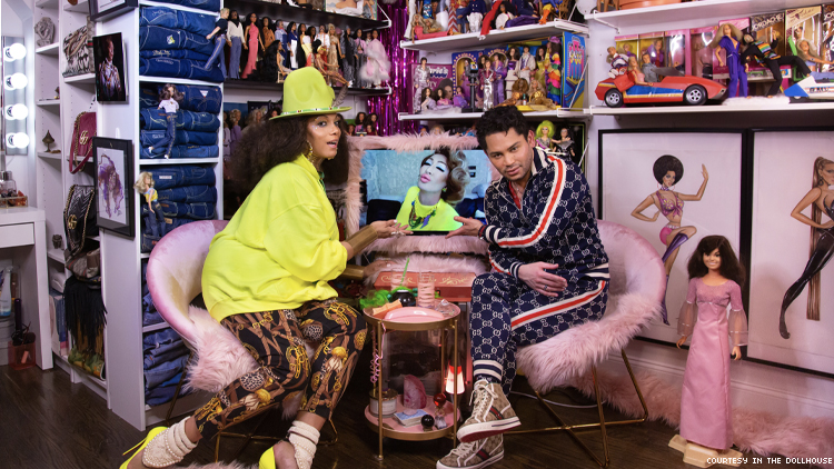 In the Dollhouse with Lina & Issac Boots