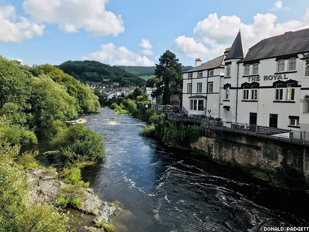 The small village of Llangollen in the north of Wales is the gateway to Snowdonia National Park.