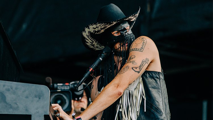 Orville Peck at Lollapalooza