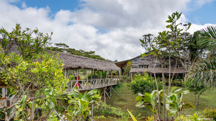 Eulophiella Lodge in Madagascar