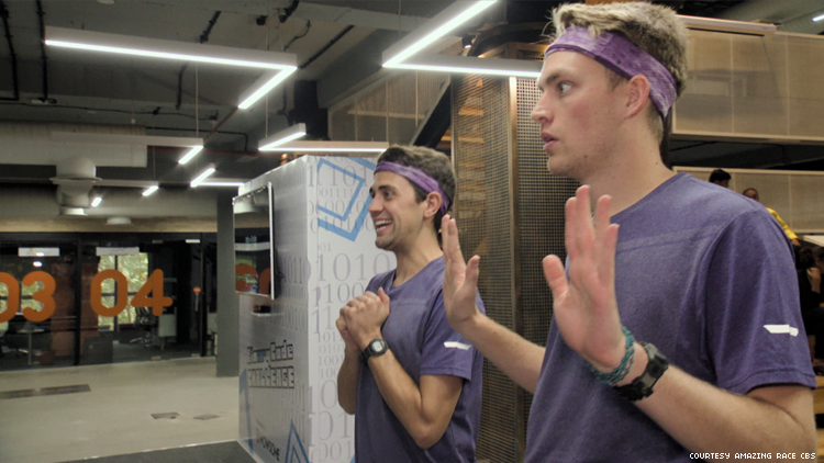 Will and James of 32nd The Amazing Race in India