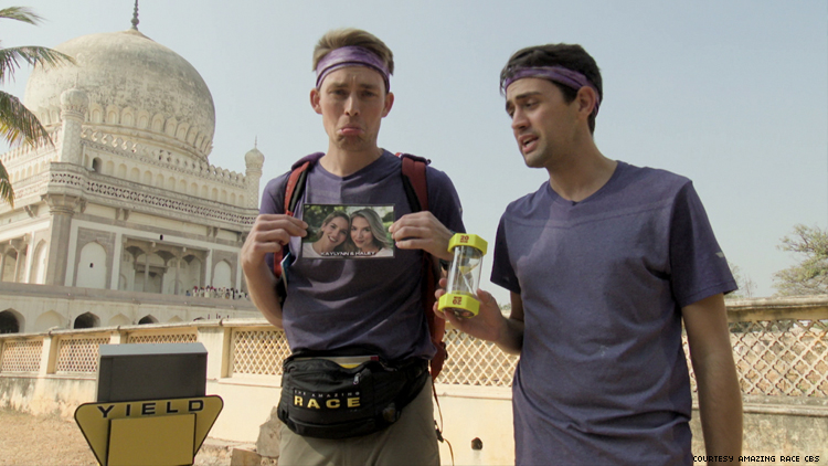 Will and James of 32nd The Amazing Race