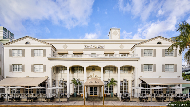 The Betsy Hotel South Beach exterior