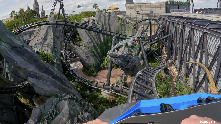 VelociCoaster at Universal in Florida