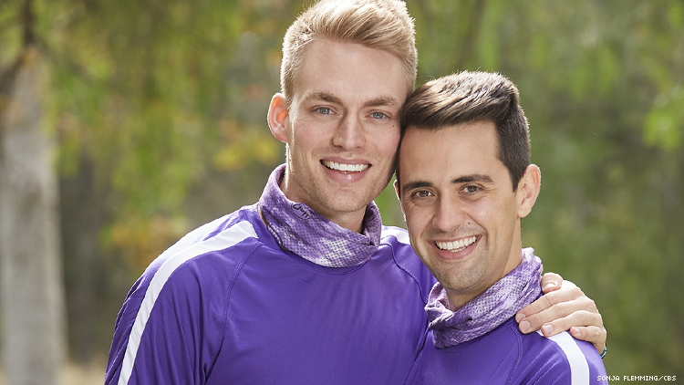 Will and James of The Amazing Race by Sonja Flemming