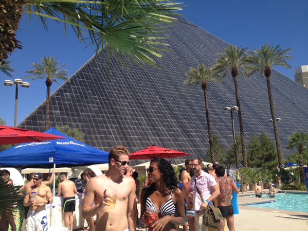 PHOTOS: Get Amped for One of Vegas's Hottest Gay Pool Parties