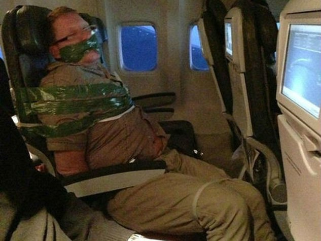 PHOTOS: The World's Worst Airline Passengers