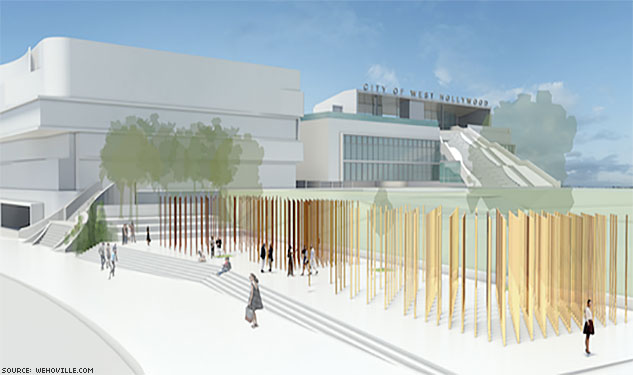 Check Out Designs for WeHo's AIDS Memorial