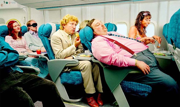 Poll: Airline Passengers Should Pay By the Pound
