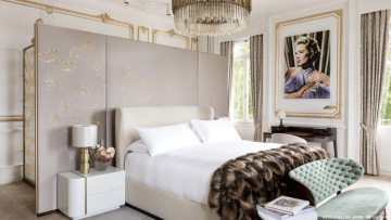 room inspired by Princess Grace in The Ritz-Carlton Hotel de la Paix