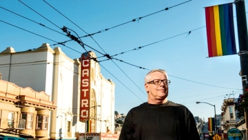 LGBTQ activist Cleve Jones in San Francisco