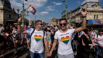Hungary Pride March
