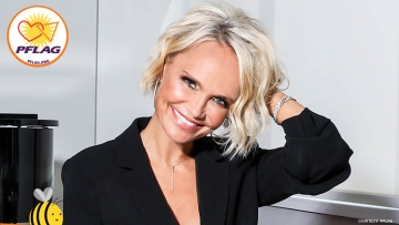 Photo of Kristin Chenoweth for PFLAG Mothers Day programs