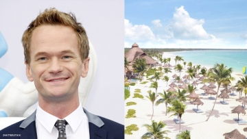 Neil Patrick Harris and the Fairmont Mayakoba in Mexico
