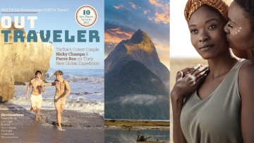 Out Traveler Cover and inside story images