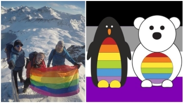 The South Pole Just Had its First Ever Official Pride Celebration