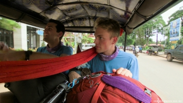 Will and James of 32nd The Amazing Race in Cambodia
