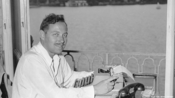 Tennessee Williams in Germany January 1 1950