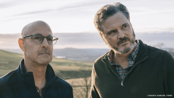 Stanley Tucci and Collin Firth