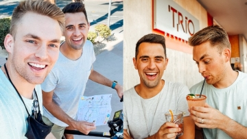 Will and James Get Back Out There to Palm Springs in New Video Series With Out Traveler Magazine