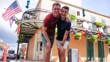 Exclusive Sneak Peek of Will & James's New Orleans Episode of 'Get Back Out There'