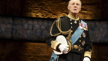 In Review: Broadway's King Charles III, Starring Tim Pigott-Smith