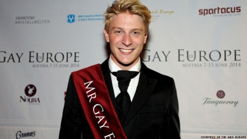 Meet the New Mr. Gay Europe
