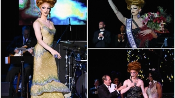 Fifi DuBois Takes Miss'd America Drag Pageant In Atlantic City By Storm