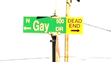 Gay Street in Texas Town Will Remain Totally Gay