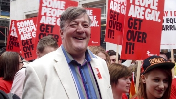 Stephen Fry Talks Attempted Suicide After Interviewing Anti-Gay Ugandan Politician