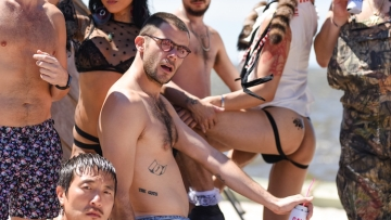 Sailors, Speedos & Sex: Inside Grindr's Fire Island BBQ