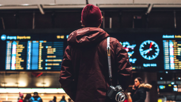Busy airport Unsplash