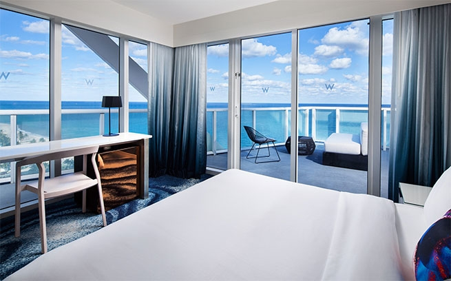 The W Fort Lauderdale Oasis Suite