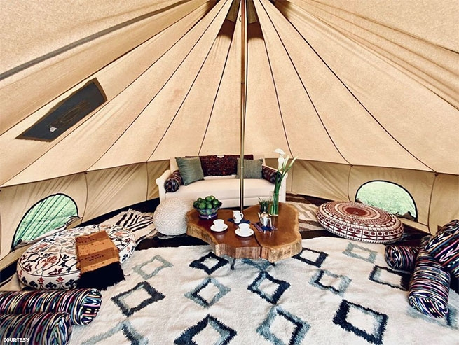 Casa Palopo's Glamping Tent