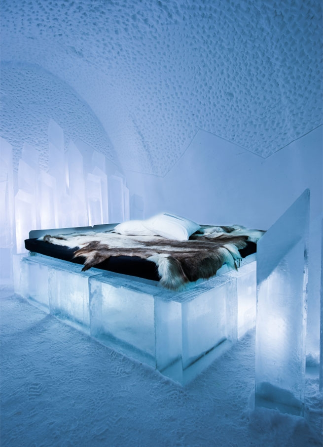 Ice Room at the Icehotel