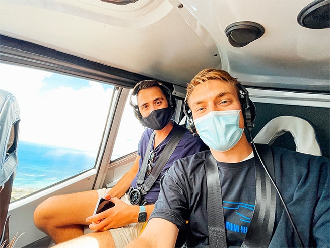 Will and James, Amazing Race