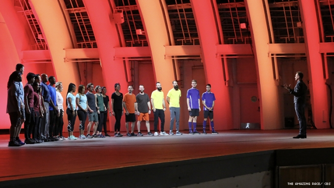 The Amazing Race 32 Starting Line