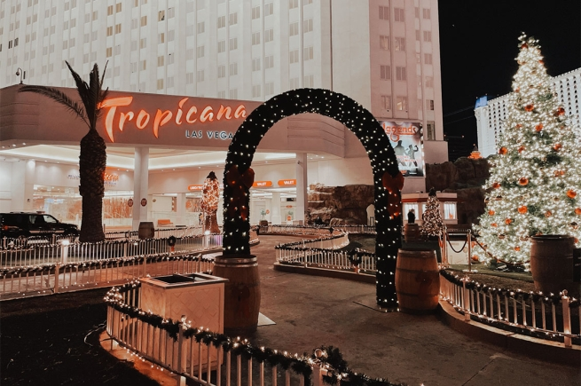 Tropicana Las Vegas Holiday in Paradise