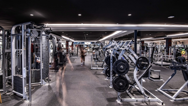 Weight Room City Gym