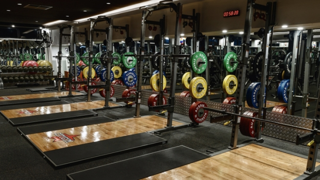 City Gym Weight Room