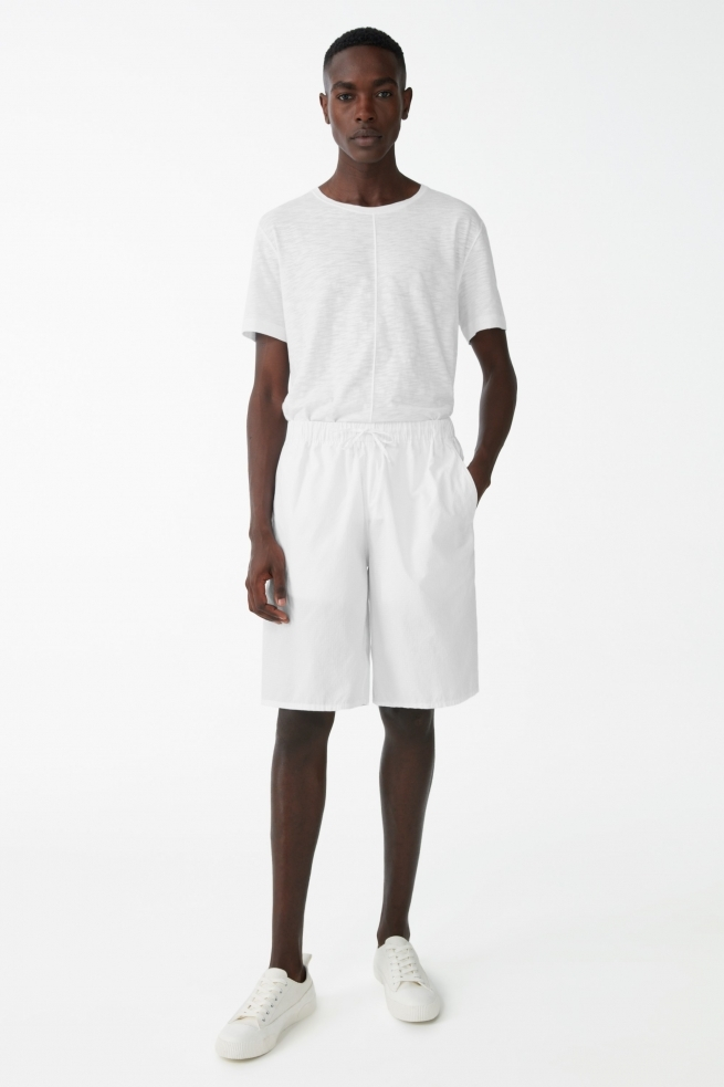Oversized Organic Cotton Shorts
