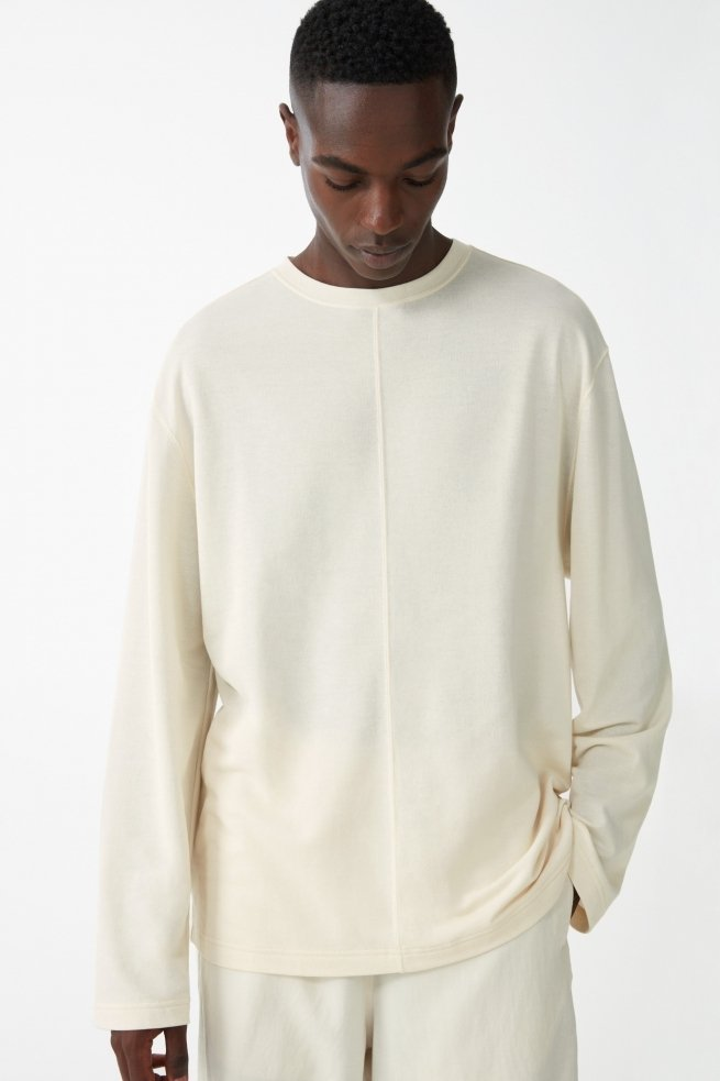 Oversized Organic Cotton Sweatshirt