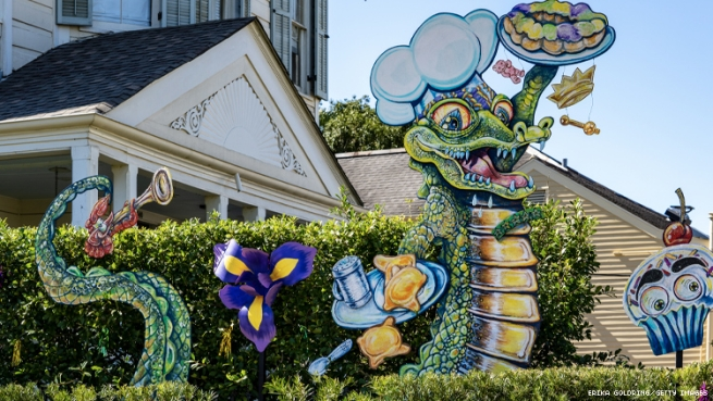 Pardi Gras House by Krewe of Red Beans