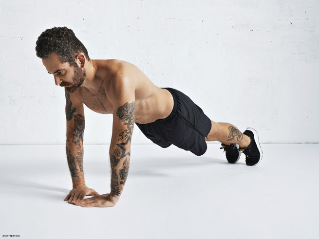 We have nine exercises that will keep you fit and bulging while you get back to traveling.