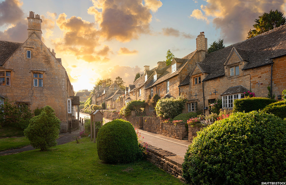 The Cotswolds are quintessential English countryside with the timeless villages and pastoral landscapes.