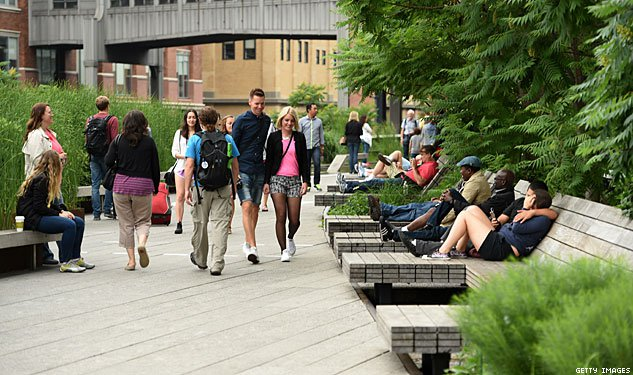 PHOTOS: The High Line, 15 Years After Two Gay Men Saved It